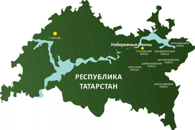 Места оказания помощи женщинам в кризисной ситуации в Татарстане