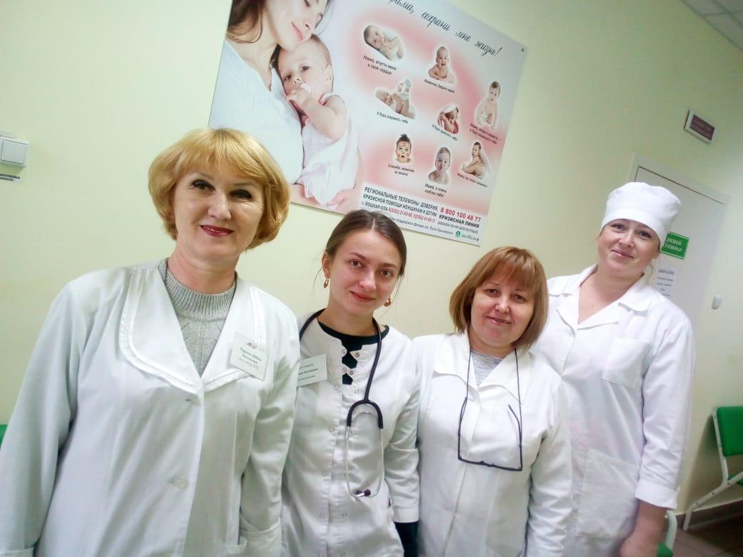 Установили 45 стендов в 26 подразделениях Звениговской центральной районной больницы Республики Марий Эл.